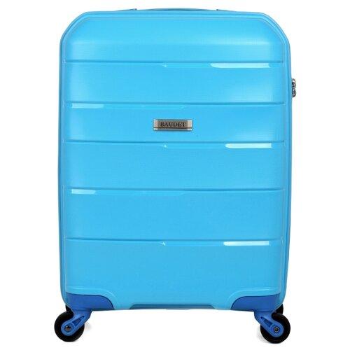 Чемодан BAUDET BHL0714813 S 36.7 л, голубойЧемоданы<br>