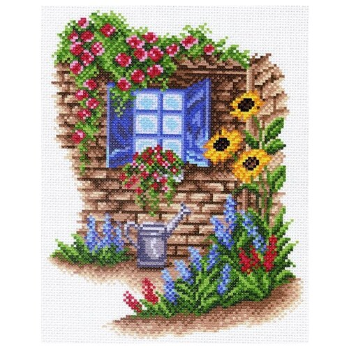 Купить Окно в сад Рисунок на канве 28/37 28х37 (18х26) Матренин Посад 1481-1, Матрёнин Посад, Канва