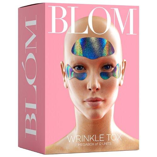 Купить Набор микроигольных патчей BLOM WRINKLE TOX. 6 патчей для лба + 6 пар патчей для кожи под глазами