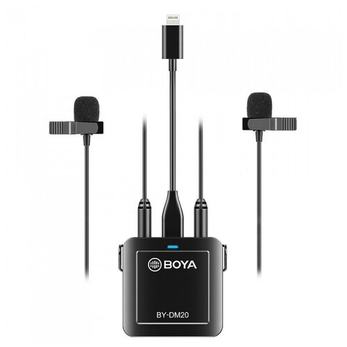 Двухканальная петличная система Boya BY-DM20