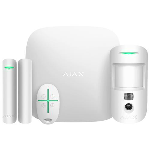 Комплект умного дома AJAX StarterKit Cam White