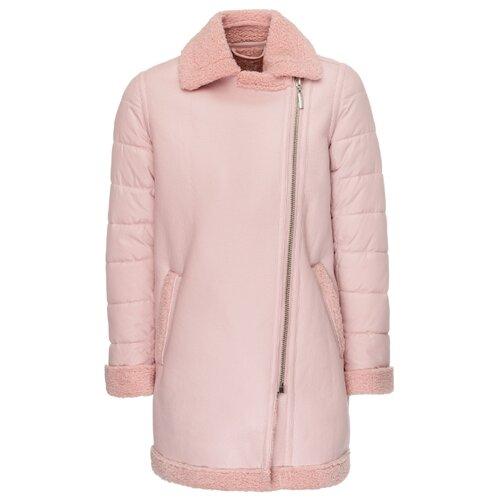 Купить Полупальто Gulliver 21907GJC4501 размер 146, розовый, Пальто и плащи