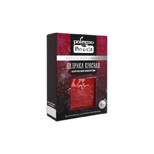 POLEZZNO Пряность Паприка красная копченая молотая 40 г органическая копченая молотая паприка 453 г 16 унций