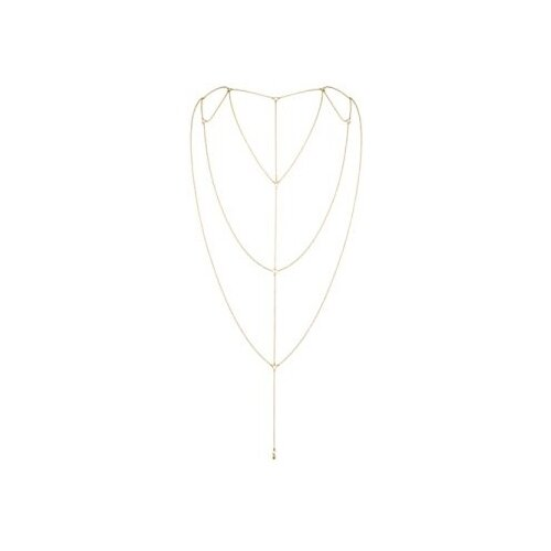 цена Bijoux Indiscrets Цепочка на спину Magnifique Back and Cleavage Chain 0266 онлайн в 2017 году