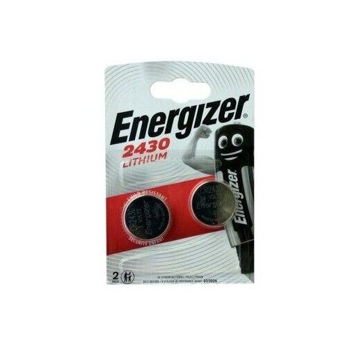 Фото - Батарейка ENERGIZER СR2430 2 шт серебряно цинковая батарейка для часов energizer 371 2 шт