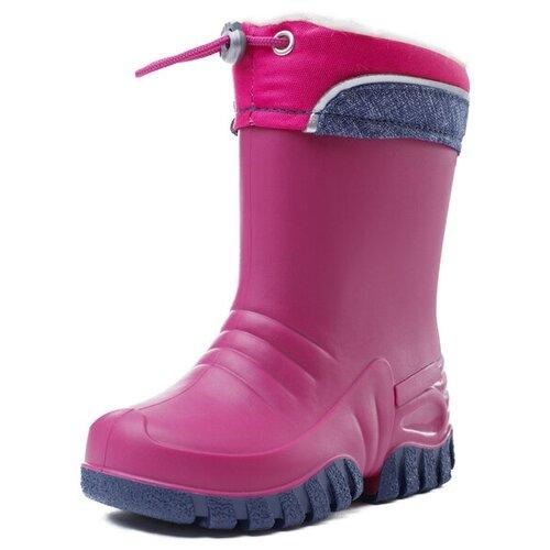 Резиновые сапоги playToday размер 28, темно-серый/розовый резиновые сапоги playtoday playtoday mp002xg006pn