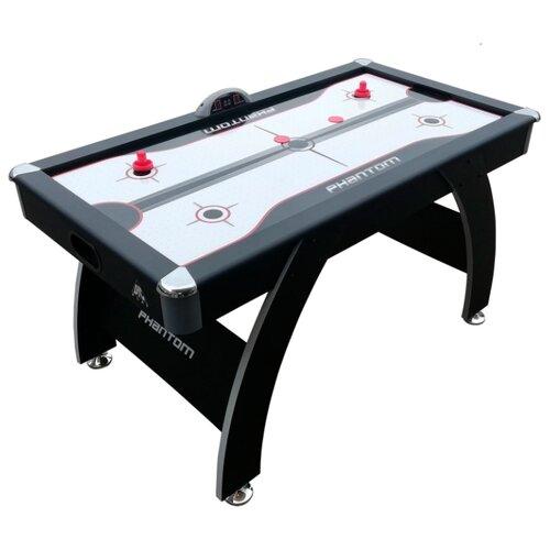 Фото - Игровой стол для аэрохоккея DFC Phantom AT-250 черный/белый игровой стол для аэрохоккея dfc baltimor ds at 09 красный черный
