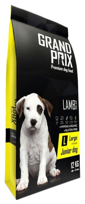 Корм для собак GRAND PRIX (12 кг) Large Junior ягненок