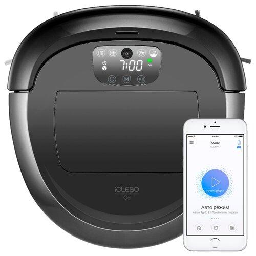 цена на Робот-пылесос iCLEBO O5 WiFi черный