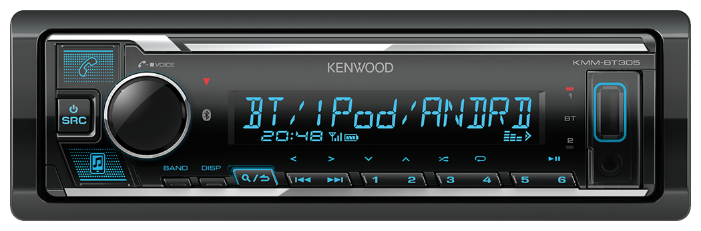 Автомагнитола KENWOOD KMM-BT305