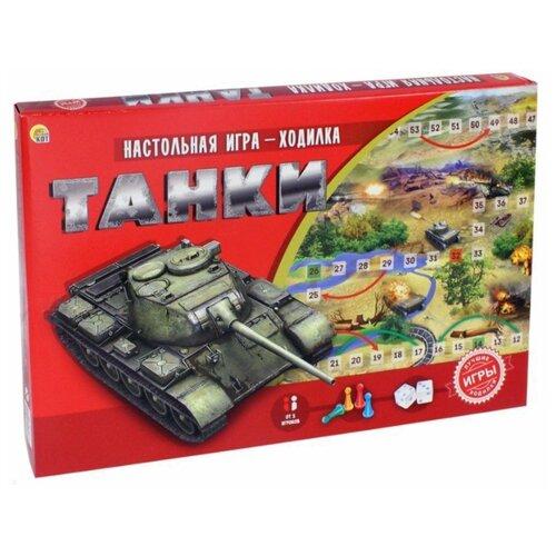 Купить Настольная игра Рыжий кот Танки ИН-8973, Настольные игры