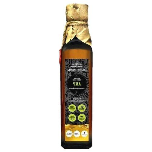 Продукты ХХII века Масло из семян Чиа нерафинированное 0.25 л продукты ххii века чиа черная семена 100 г