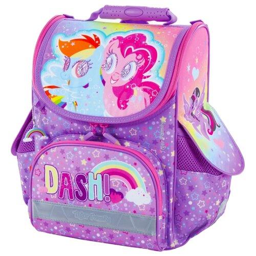 TIGER FAMILY Ранец Nature Quest Rainbow Dash & Pinkie Pie (228969), сиреневый