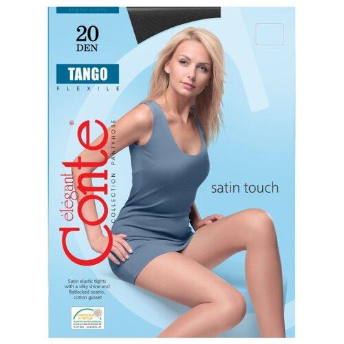 Фото - Колготки Conte Elegant Tango 20 den, размер 2, nero (черный) комплект conte elegant conte elegant mp002xw13v8a