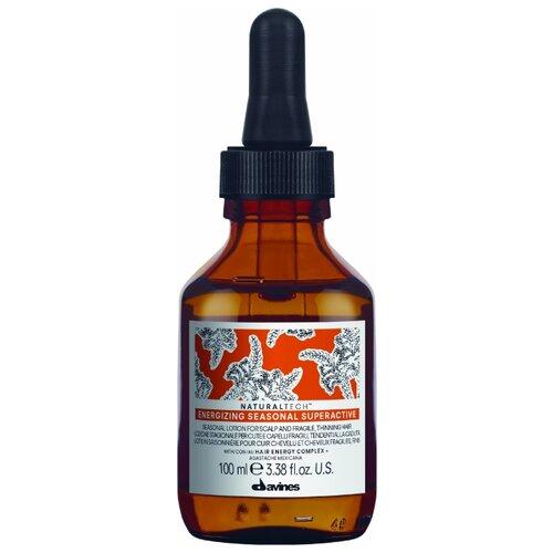 Купить Davines Natural Tech Энергетический сезонный суперактивный лосьон для лечения кожи головы и волос, 100 мл
