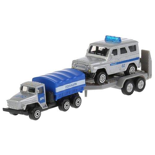 Купить Машины Набор полицейских машин 7, 5см, Технопарк, ТЕХНОПАРК, Машинки и техника