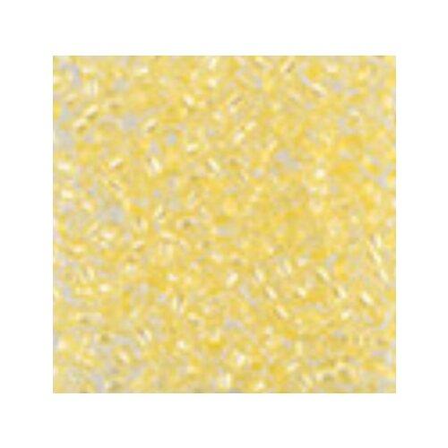 Купить Бисер Preciosa , 10/0, 500 грамм, цвет: 38286 светло-желтый, Фурнитура для украшений