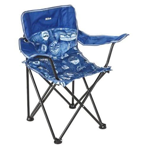Кресло Nika Премиум 5 джинс/синий