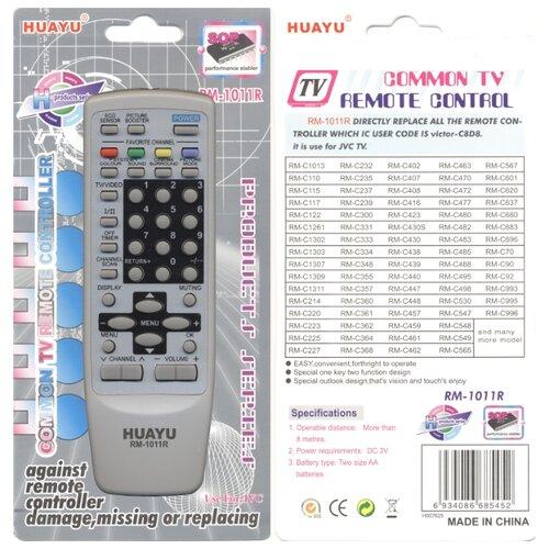 Фото - Пульт универсальный Huayu RM-1011R для JVC универсальный пульт perfeo pf_b4092