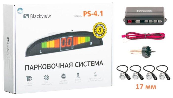 Задние парктроники, монитор Blackview PS-4.1-18