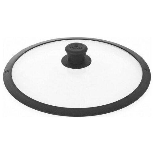 Крышка Taller TR-8004 (26 см) прозрачный / черный