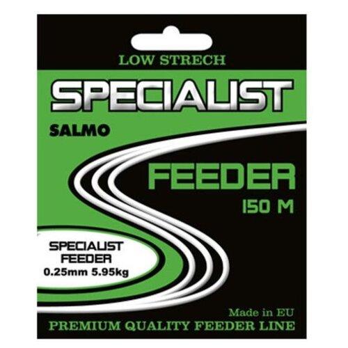 Монофильная леска Salmo Specialist Feeder черный/красный 0.25 мм 150 м 5.95 кг