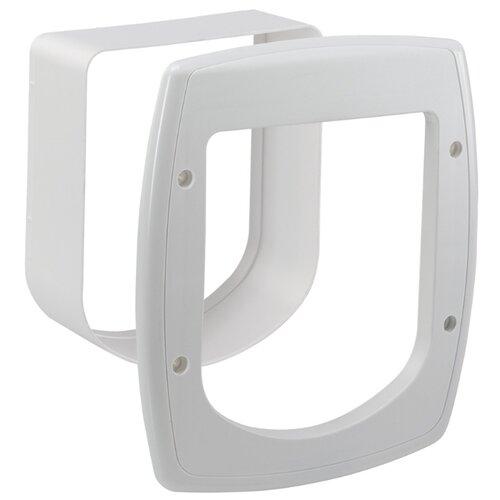 Тоннель для дверцы Ferplast Swing Microchip Extension 22.5х16.2х25.2 см белый