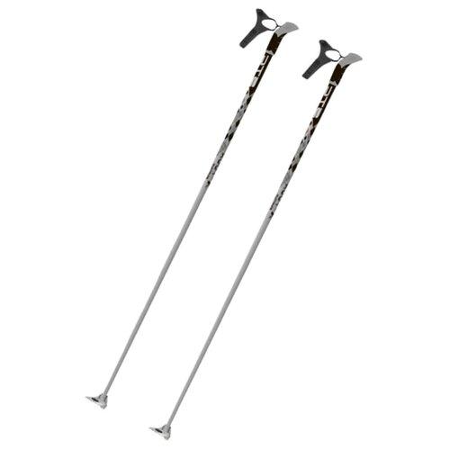 Лыжные палки STC X-Tour серый 140 2018-2019