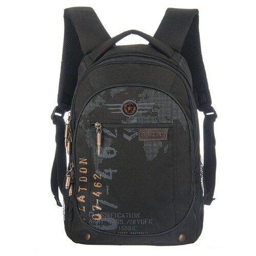 Купить Grizzly Рюкзак RU-501-1, черный, Рюкзаки, ранцы