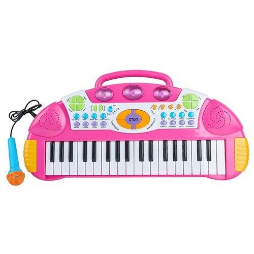 Купить Kari пианино F581763 розовый/белый/желтый/голубой, Детские музыкальные инструменты