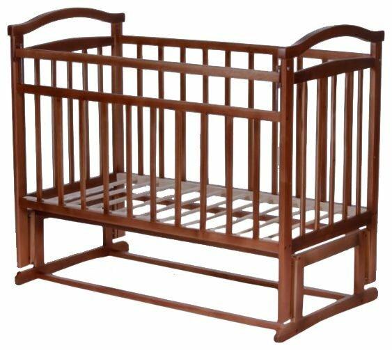 Кроватка Антел Ульяна-6 (классическая), продольный маятник