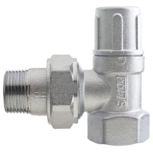 Фото - Запорный клапан FAR FV 1200 муфтовый (ВР/НР), латунь, для радиаторов Ду 20 (3/4) запорный клапан far ft 1616 муфтовый нр нр латунь для радиаторов ду 15 1 2