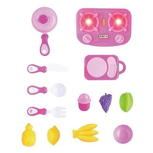 Купить Игровой набор Zhorya ZY1060974 розовый, Детские кухни и бытовая техника