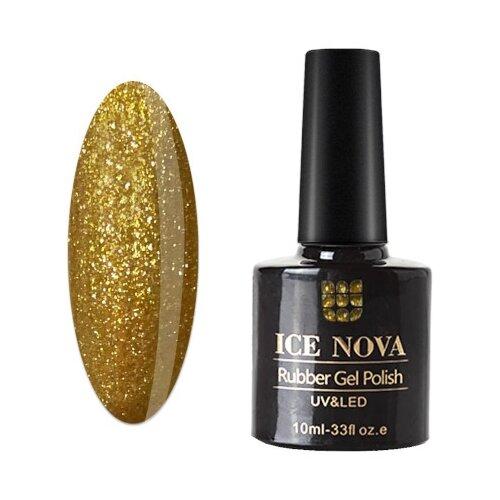 Купить Гель-лак для ногтей ICE NOVA Rubber Gel Polish, 10 мл, 006