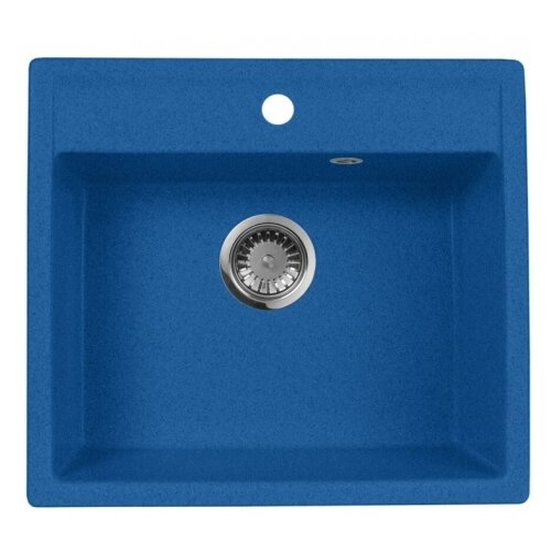 Врезная кухонная мойка 56 см А-Гранит M-56 синий врезная кухонная мойка 56 см а гранит m 56 синий