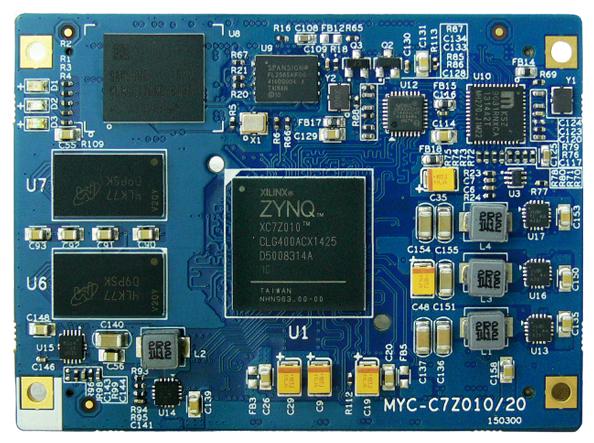 Процессорная плата MYIR MYC-C7Z010-4E1D-667-C