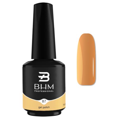 Купить Гель-лак для ногтей BHM Professional Gel Polish, 7 мл, оттенок №087 Juicy Mango
