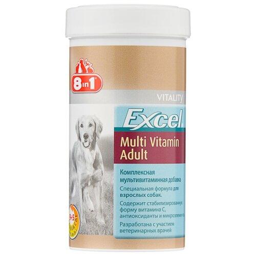 Добавка в корм 8 In 1 Excel Multi Vitamin Adult для взрослых собак 70 шт.Витамины и добавки для кошек и собак<br>