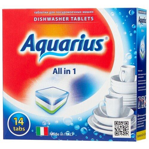 AQUARIUS All in 1 таблетки для посудомоечной машины 14 шт.