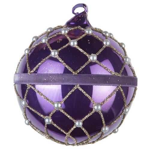 Набор шаров KARLSBACH 08740, фиолетовый
