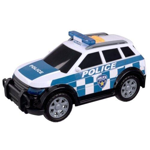 Купить Внедорожник Teamsterz Mighty Moverz Полиция 4х4 (1416836) белый/синий, Машинки и техника