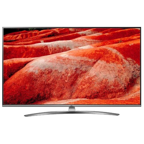 Фото - Телевизор LG 55UM7610 55 (2019) черный/серый металлик телевизор