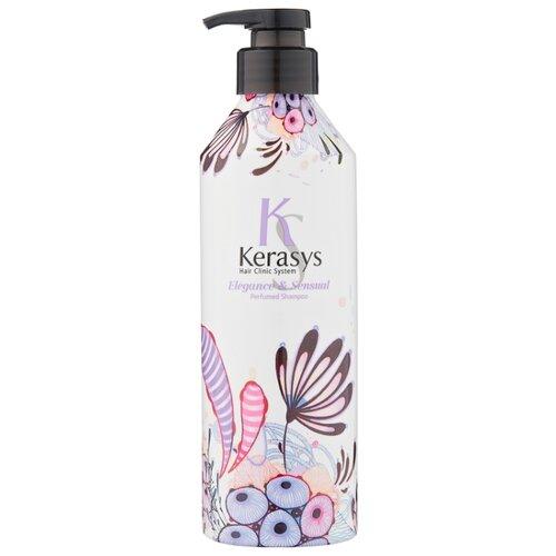 KeraSys шампунь Elegance & Sensual 600 мл с дозатором шампунь kerasys kerasys ke013lwujr15