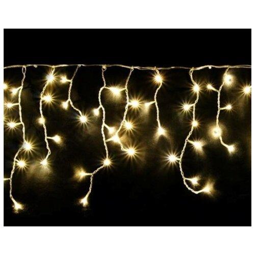 Гирлянда Uniel бахрома UL-00005278 (480 х 60 см), 175 ламп, теплый белый/белый провод гирлянда уличная lotti бахрома 480 led