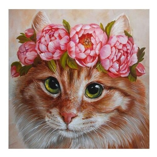 Купить Molly Картина по номерам Красавица 20х30 см (KH0328), Картины по номерам и контурам