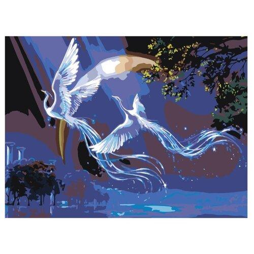 Купить Картина по номерам, 75 x 100, KTMK-Fenixove1, Живопись по номерам , набор для раскрашивания, раскраска, Картины по номерам и контурам