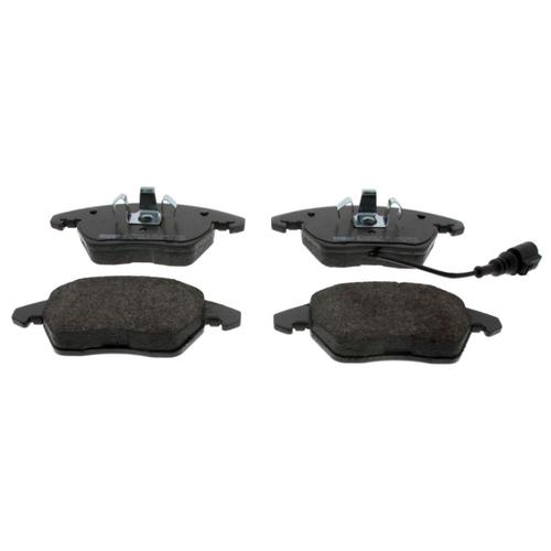 Дисковые тормозные колодки передние Ferodo FDB1641 для Audi, SEAT, Skoda, Volkswagen (4 шт.) дисковые тормозные колодки передние marshall m2621974 для skoda volkswagen seat audi 4 шт