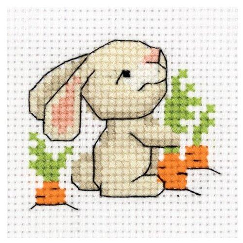 Купить Klart Набор для вышивания Зайчишка 9, 5 х 8, 5 см (8-341), Наборы для вышивания