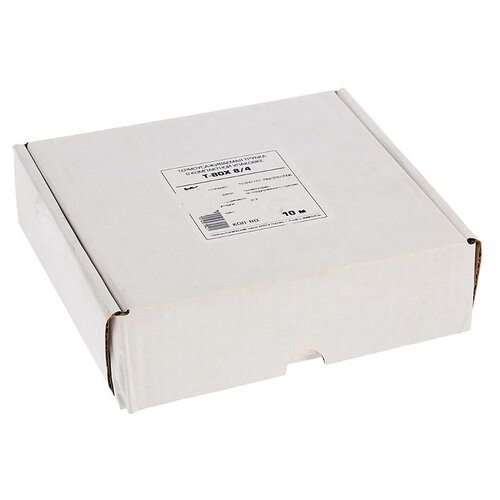цена на Трубка усаживаемая (термоусадочная/холодной усадки) КВТ Т-BOX-8/4 (белый) 8 / 4 мм