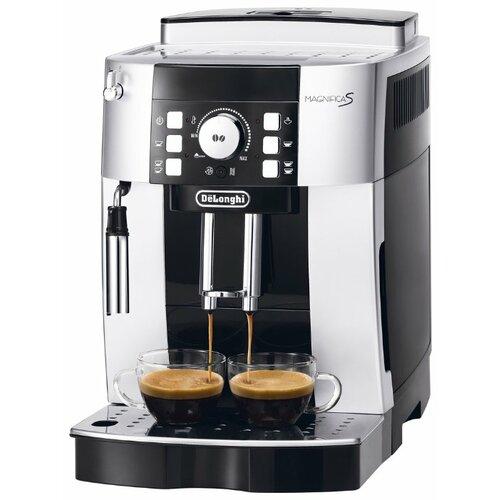 Кофемашина De'Longhi Magnifica S ECAM 21.117 серебристый/черный кофемашина de longhi magnifica s ecam 21 117 серебристый черный